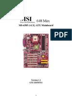 Motherboard E6585v1.1