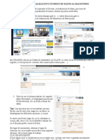Manual Actualizacion de Datos