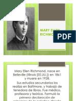 Unidad 4 Mary Ellen Richmond- Estudiantes Trabajo Social
