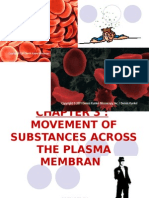3.1 Movement of Substances