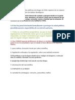 Mejoras en Las Politicas Referentes a La Marihuana en Chile