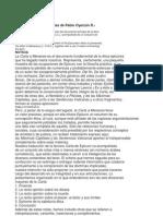 Carta a Meneceo Trabajo de Filosofia 2012
