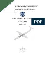 Hybrid Electric Regional Transport Design Report