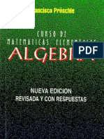 Algebra (Matematicas Elementales) - Proschle