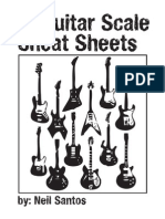 The Guitar Cheat Sheets