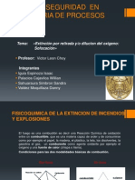 Fisicoquimica de La Extincion de Incendios y Explosiones-trabajo Final