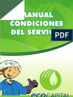 Manual Condiciones Del Servicio Ecocapital
