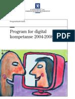 Program for Digital Kompetanse 2004-2008
