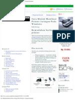 Cara Mudah Membuat Printer Jaringan Pada Windows _ Jaringan Komputer