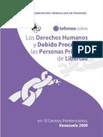 Informe Final 200 2010 Sistema Penitenciario