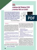 Caracteristicas Del Sistema CAN