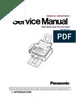 Panasonic KX-FL511 ServiceManual