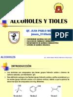 Alcoholes y Tioles