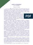 H.P. Blavatsky - Che cosa è la Teosofia
