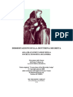 H.P. Blavatsky - Dissertazioni Sulla Dottrina Segreta