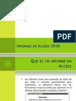 Informes en Access
