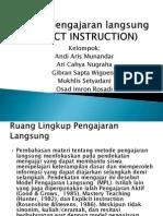 Model pengajaran langsung(DIRECTINSTRUCTION)