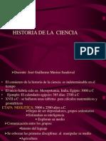 Historia de La Ciencia Diapositivas 2