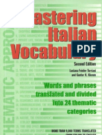 Master Italian Vocabulary