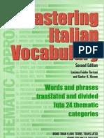 Master Italian Vocabulary