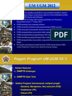 Presentasi Pra UM 2012 Utk FEB