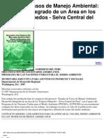 Estudio de Casos de Manejo Ambiental- perú