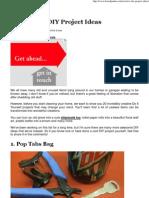 20 Creative DIY Project Ideas _ Bored Panda