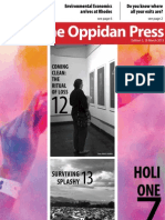 The Oppidan Press. Edition 3. 2013