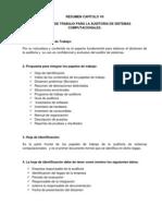 Resumen Capitulo 7 de Auditoria en Sistemas Computarizados