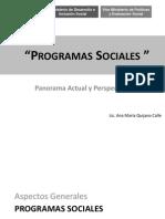 A.M. Quijano. MIDIS. Programas Sociales