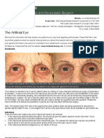 The Artificial Eye
