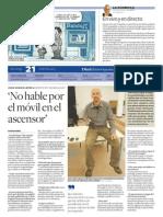 Diari de Tarragona entrevista a Joan Carles López