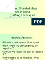 Amta5 6 Applying Shielded Metal Arc Welding Smaw Techniques