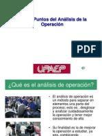 Los 10 Puntos del análisis de la Operación