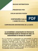 La contabilidad y presentación de informes de responsabilidad