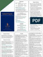 Ece Grad Brochure 2012
