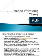 Information Processing Theory (1)