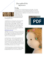 Doll hair - Waldorf doll (Waldorfpuppe)