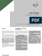 Manual Conductor Altima 2011