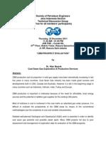 Society of Petroleum Engineers_Technical Talk_CBM