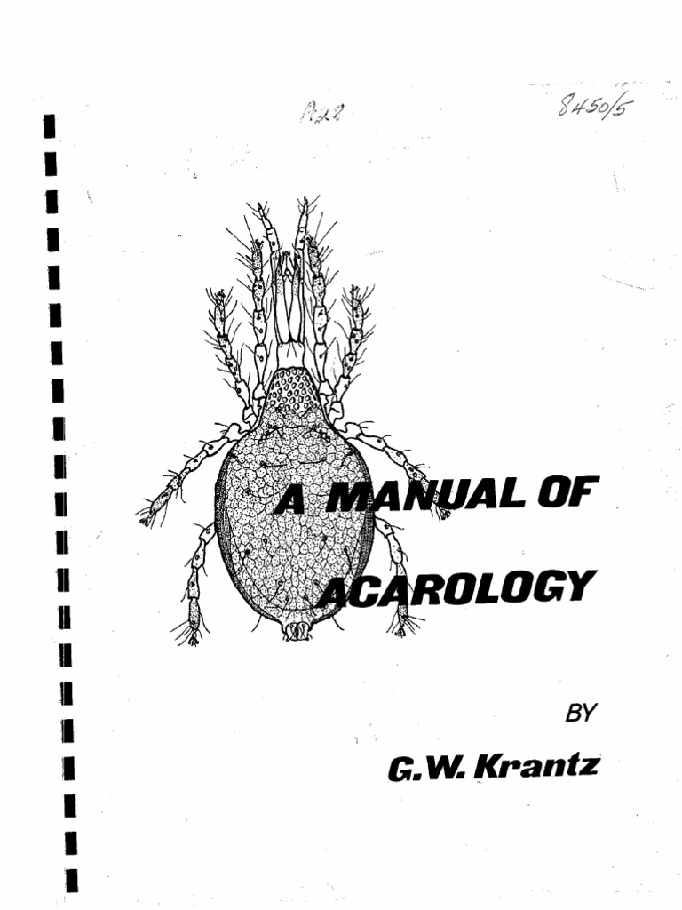 a manual of acarology reproductive system arthropods rh scribd com a manual of acarology krantz pdf free Acarology and Human Health