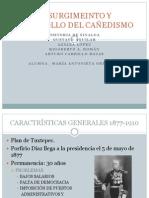 VII SURGIMEINTO Y DESARROLLO DEL CAÑEDISMO