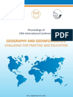 Geography and geoinformatisc