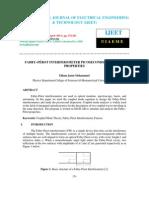 FABRY–PÉROT INTERFEROMETER PICOSECONDS DISPERSIVE PROPERTIES
