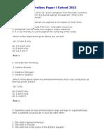 (Www.entrance Exam.net) IAS Prelims Paper I Solved 2011