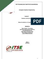 Manual de Postgresql Xp Sp3 - Ingles