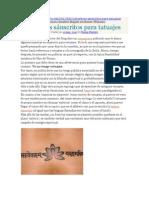 Mantras sanscrito para tatuajes.doc