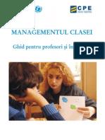 Ghid Managementul Clasei Pt PDF