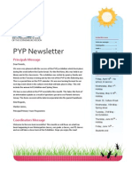 PYP Newsletter April 2013