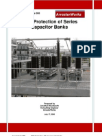 Mov Protection Series Capacitor Banks
